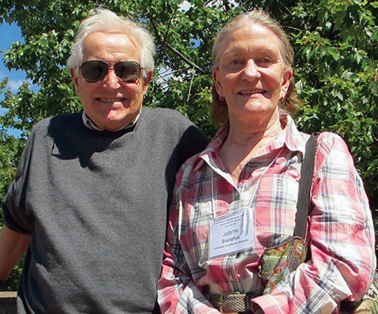 Judith Palmer & Ben Stoltzfus